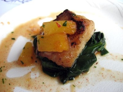 Seared Scallops With Tropical Salsa Recipes — Dishmaps