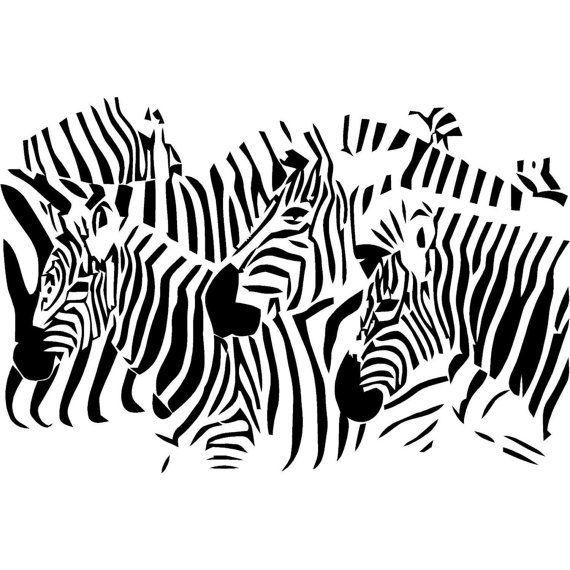 Zebra Wall Art Decals 79