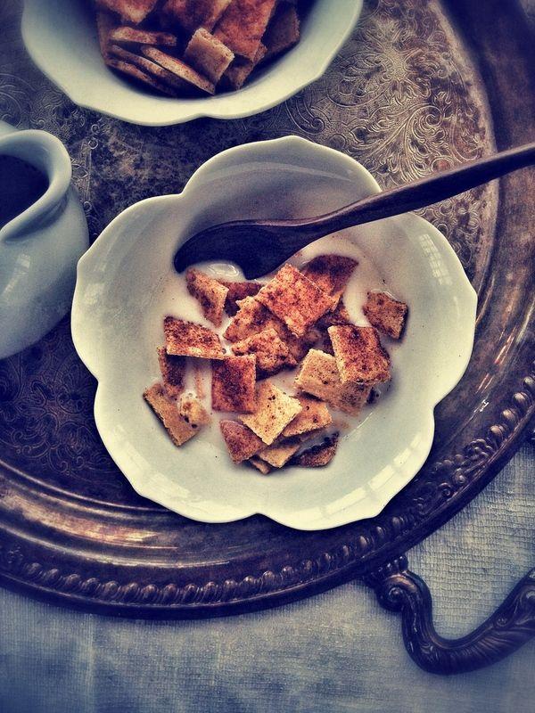 Paleo Cinnamon Toast Crunch Cereal. (Gluten/Grain/Egg/Dairy Free.