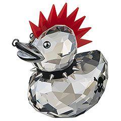;) Happy Duck - Punk Duck #swarovski