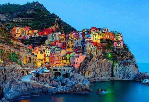 23 Extraordinary And  Unique  Places You should Visit!. Manarola, Cinque Terre – Italy