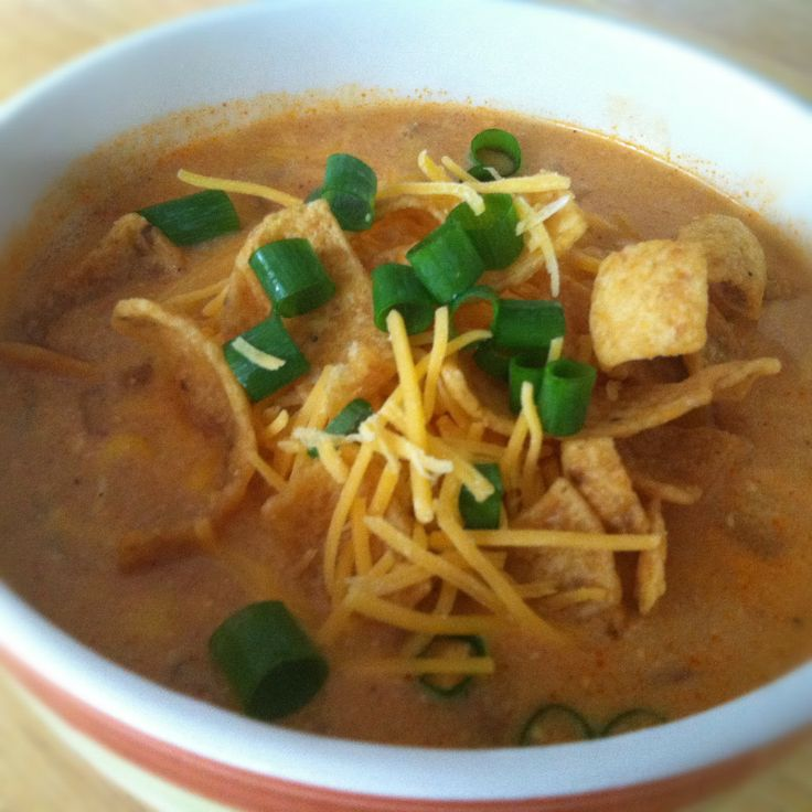 ... wimp. What's cooking in the burbs: Slow Cooker Chicken Enchilada Soup