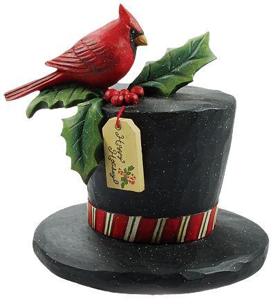 Happy Holidays Top Hat