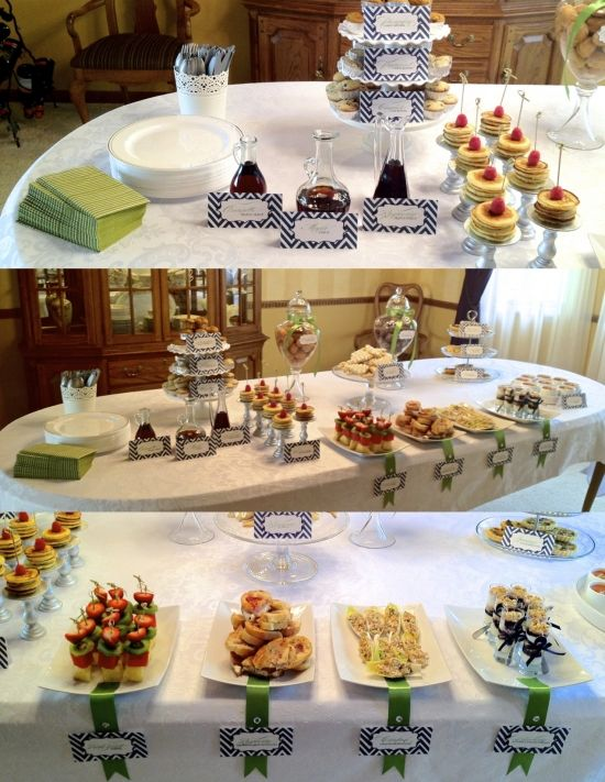 food table for baby shower my recipes pinterest