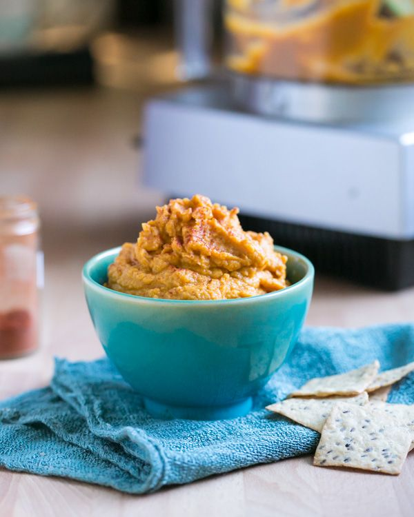 Easy Pumpkin Hummus | a Couple Cooks--sounds like an adventure ...