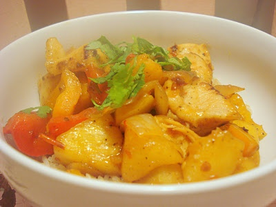 Thai Chicken and Pineapple Stir Fry | recipes | Pinterest