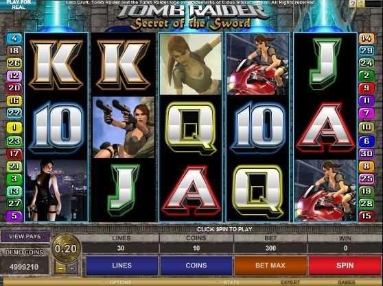 tomb raider slot game free