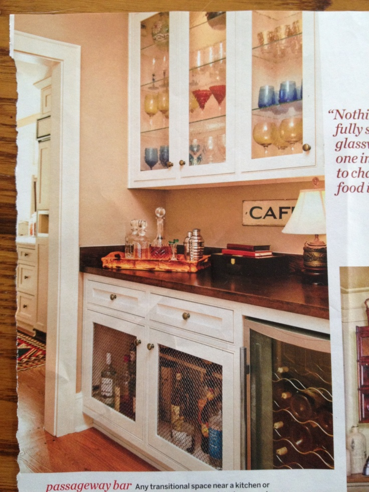 Built in bar with wall cabinet for glassware home Built in bar cabinets