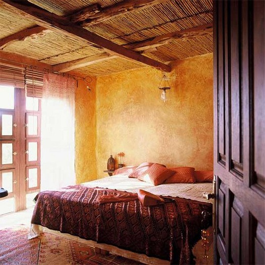 bedroom in spanish farm house spanish decor pinterest