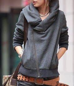 Grey women sweater fashion 2014