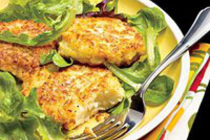 Cauliflower Fritters | Vegetable Delights | Pinterest