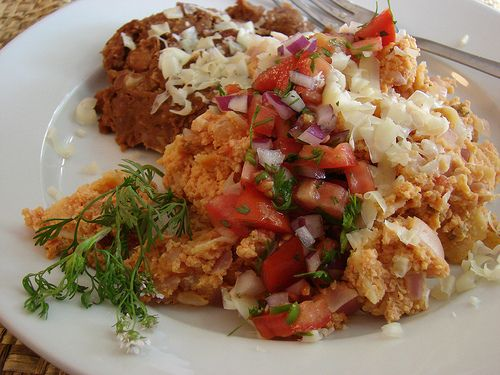 Not Exactly Grandma's Migas recipe from Food52