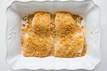 Baked Cod with Ritz Cracker Topping | Recipe