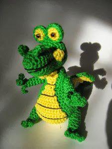 Amigurumi Pattern Dragon Free : Dragon Free Amigurumi Patterns crochet / knit toys ...