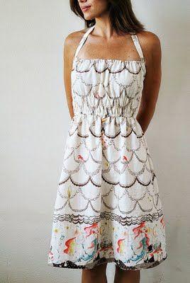 Honey Girl dress pattern.