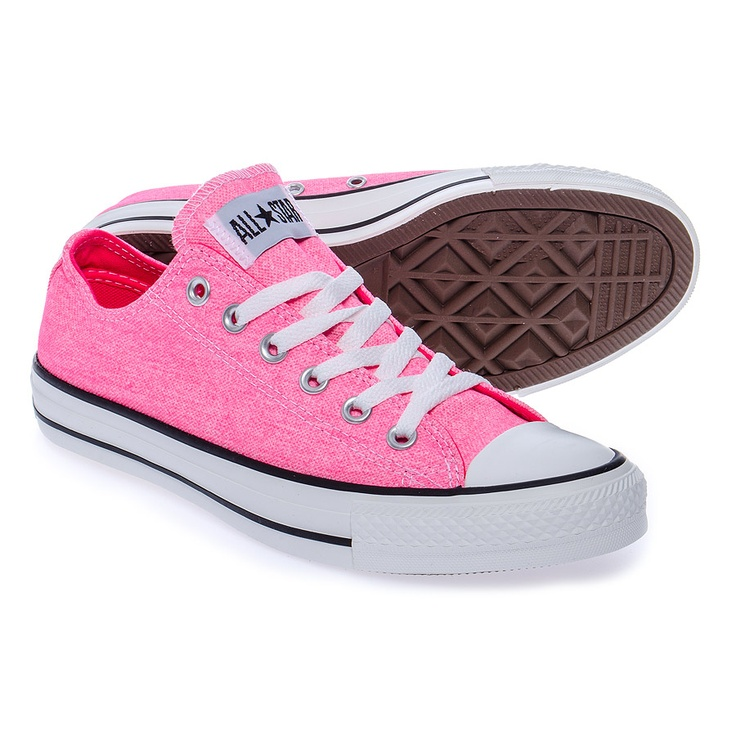 converse all ox shoes neon pink we shoes