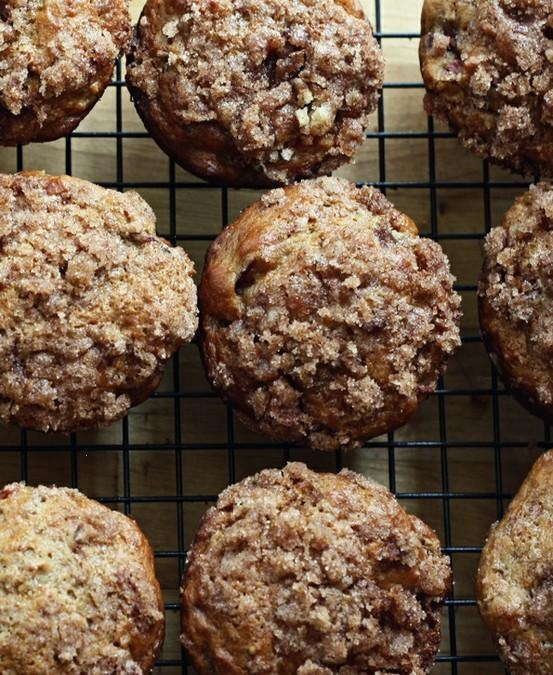 rhubarb muffins. | Favorite Recipes | Pinterest