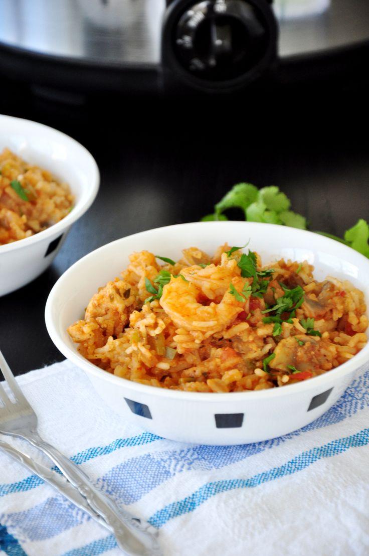 Crock Pot Jambalaya | Food | Pinterest