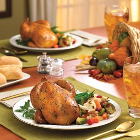 Cornish Hen with Lemon, Pepper, Rosemary and Garlic Recipe These savo ...