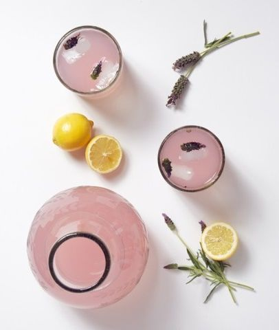 Lavender Infused Lemonade | -=♥BeauFood♥=- | Pinterest