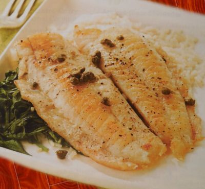 Tilapia Piccata with Wine and Capers | Recipe