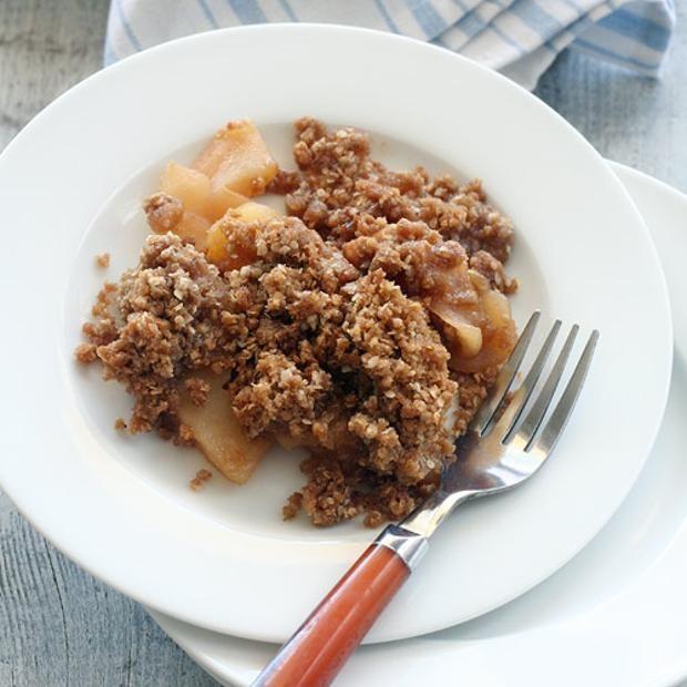 Karina's Gluten-Free Apple Crisp | Foodie board | Pinterest