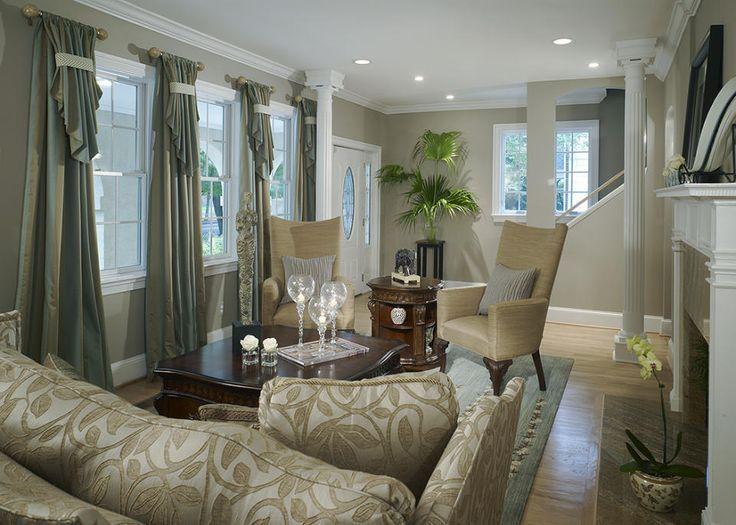 Transitional Living Room Decorating Ideas Living Room