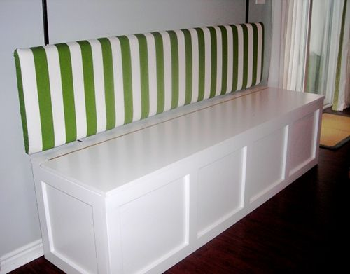 How To Build A Banquet Storage Bench Camp Pinterest
