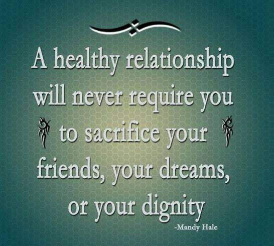 healthy relationships Healthy relationships are an important part of life you can have a healthy relationship with anyone in your life, including your family, friends and dating partners.