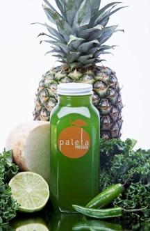 ... METABOLIZE + DIGEST kale, pineapple, jicama, lime, serrano, cilantro
