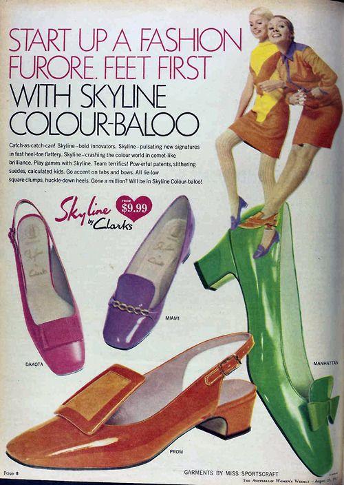 1967 shoe fashions