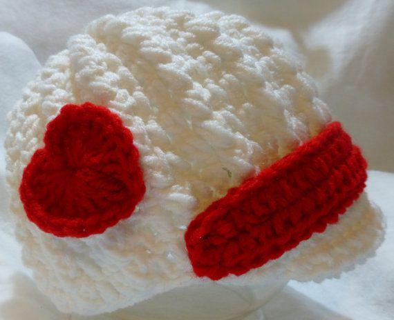 valentine hearts crochet