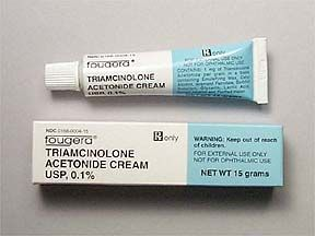 triamcinolone cream rash from mites