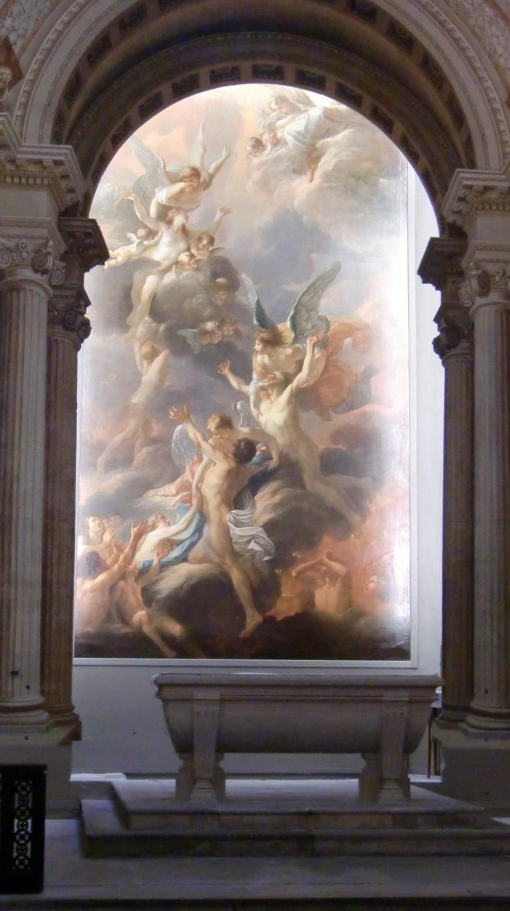 Trompe-l'oeil in Sainte-Marguerite