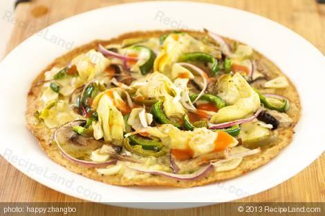 Breakfast Tortilla Pizza | Morning Eats | Pinterest
