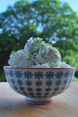 ... ://icecreamjubilee.blogspot.com Coconut Kaffir Lime Ice Cream Jubilee