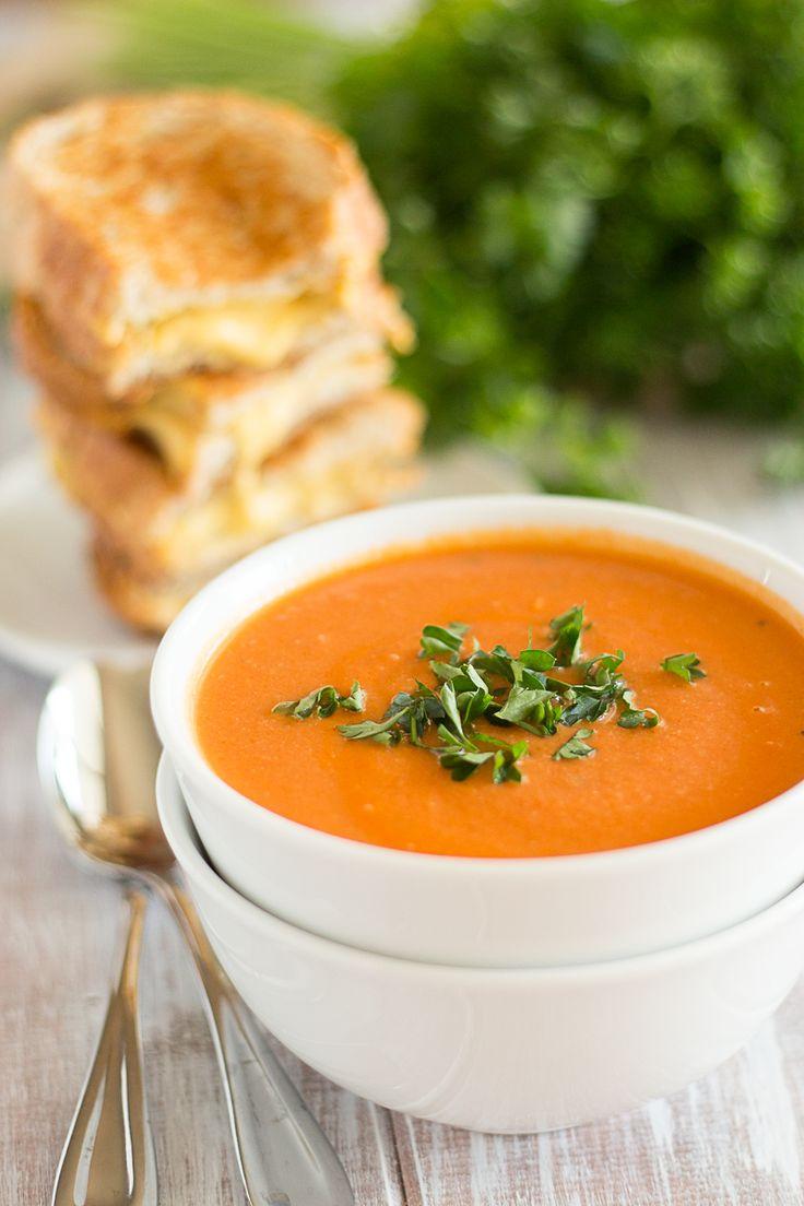 Creamy Tomato Soup | SOUP | Pinterest