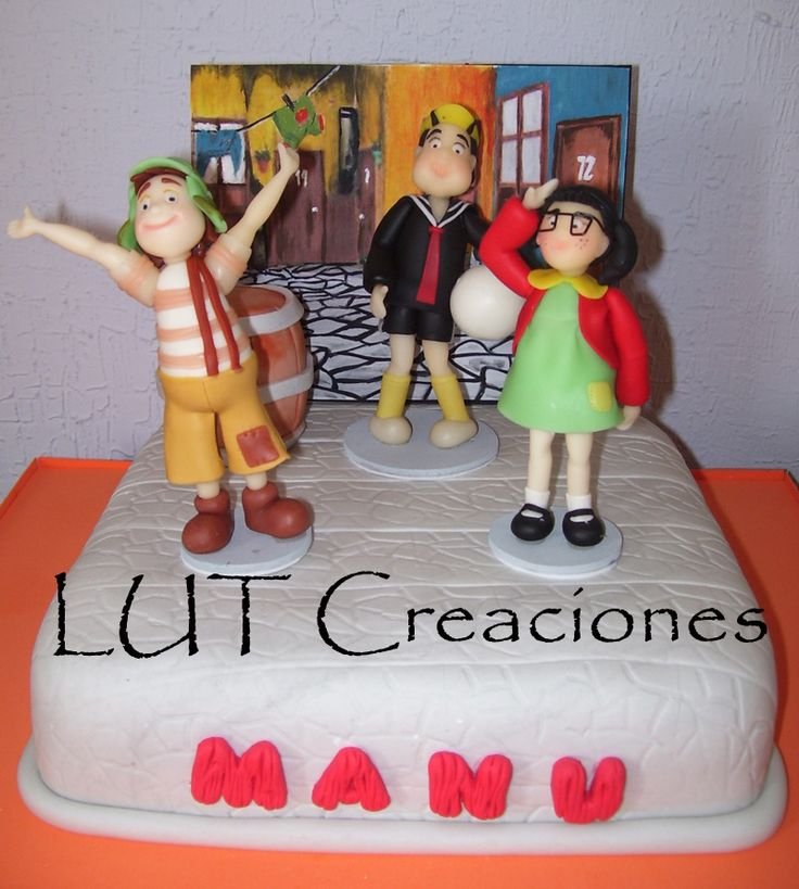 Pin Torta El Chavo Cake On Pinterest