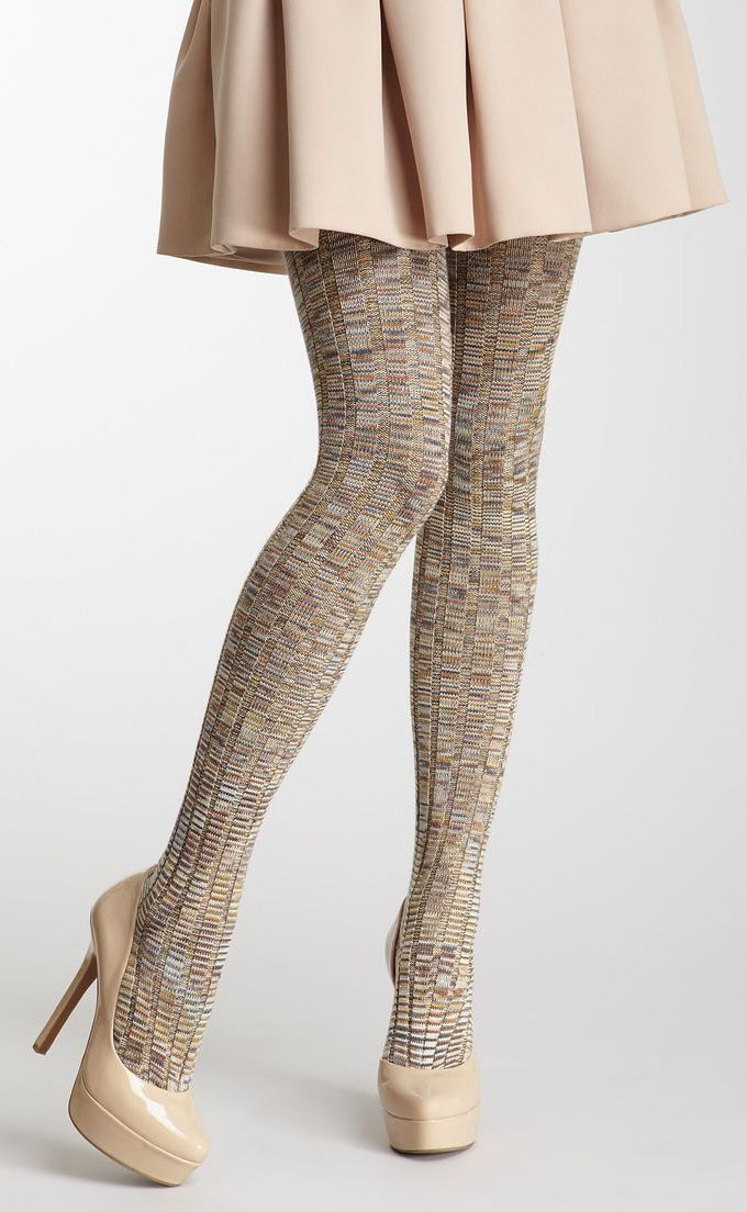 Missoni Ribbed Tights ♥