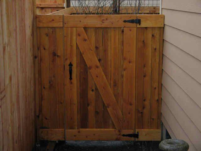 Wooden Fence Gates Designs Gardens Pinterest