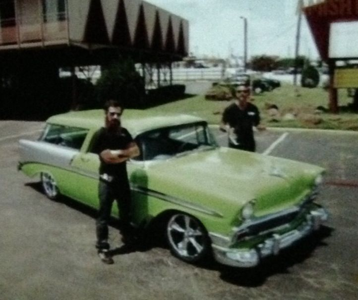 The Gas Monkey Garage/Dale Jr Diet Mountain Dew 1946 Chevy Nomad with