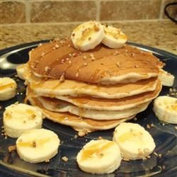 Banana Pancakes I Allrecipes.com #recipe