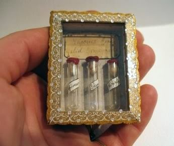 It is a collection of vapours from 3 graveyards around the world-Salem, Highgate and Sighisoara (Romania, Transylvania