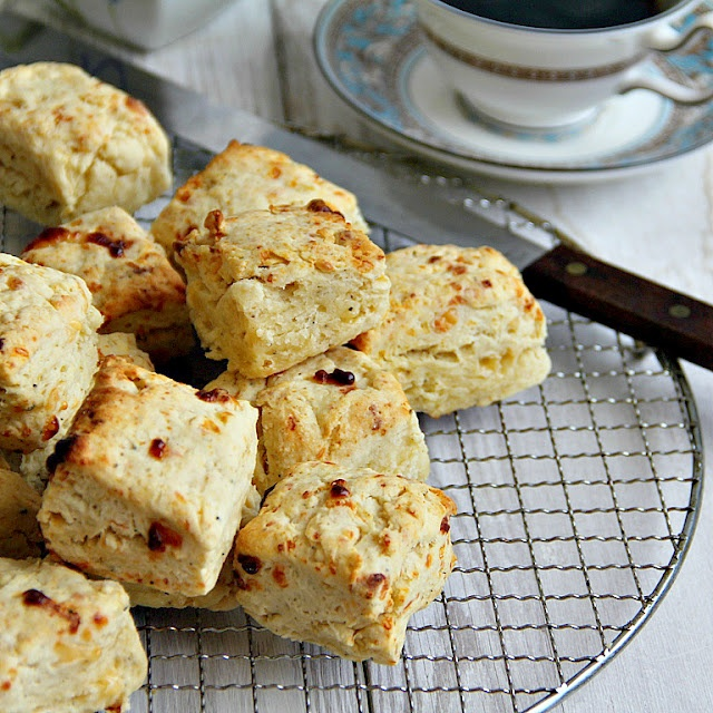 Cheddar, Parmesan, And Cracked Pepper Scones Recipes — Dishmaps