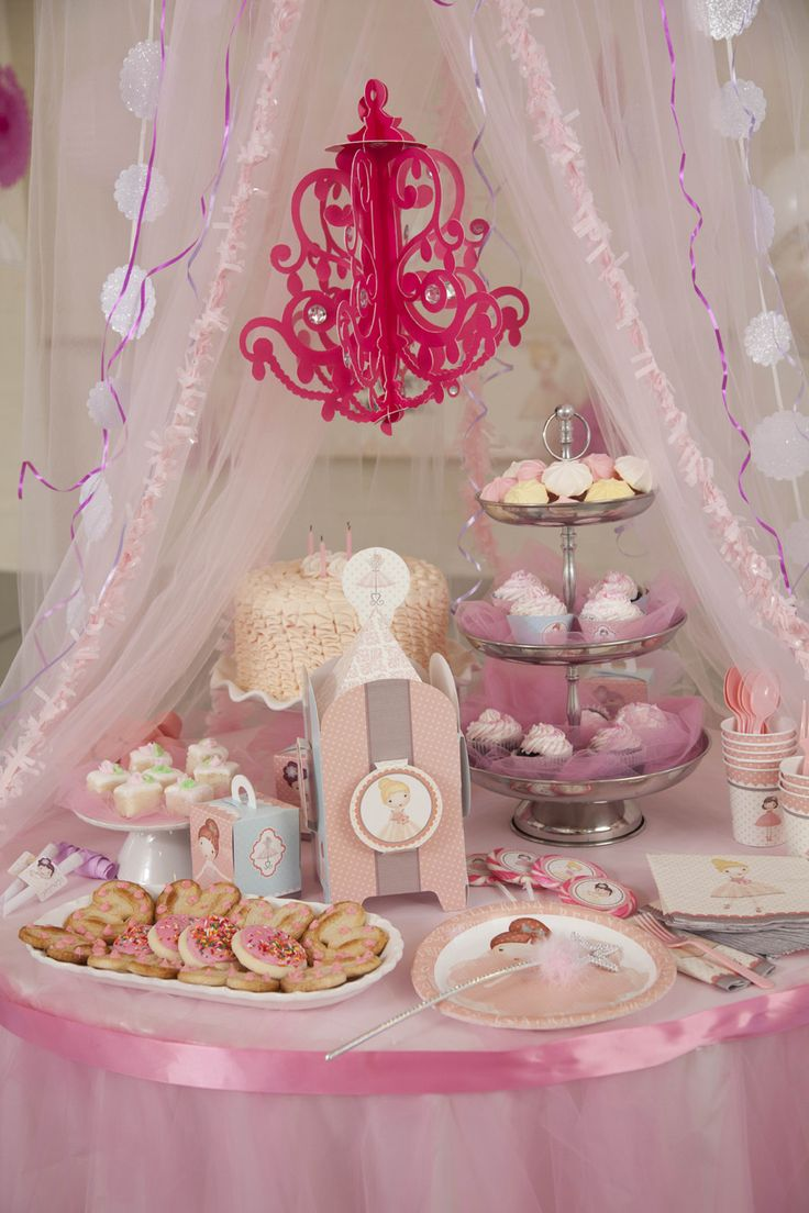 Ballerina tutu centerpiece birthday party decoration for Ballerina party decoration ideas