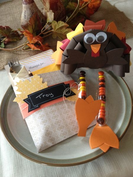 20 Thanksgiving Place Settings and Table Settings Ideas & Thanksgiving place settings
