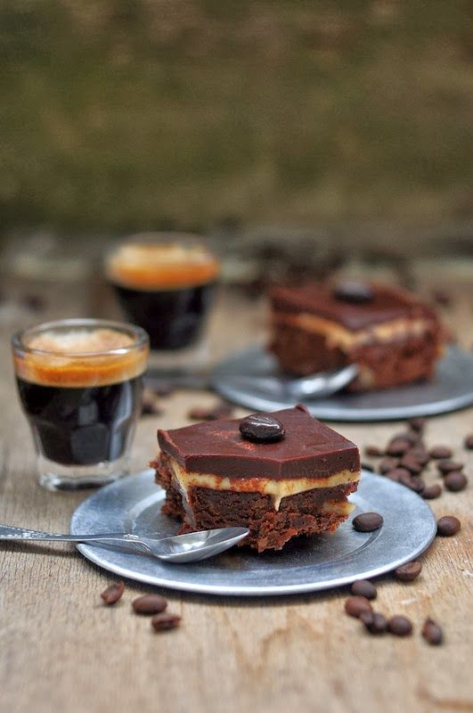 Cappuccino brownies | Coffee #&$♡£€₩ | Pinterest