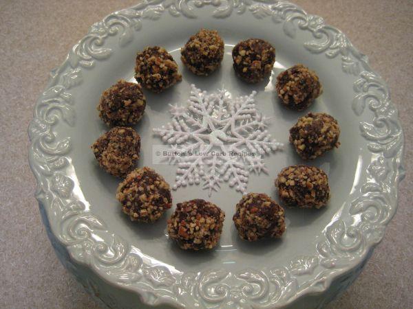 Low Carb Rum Balls (or Bourbon Balls) | Low Carb Recipes | Pinterest