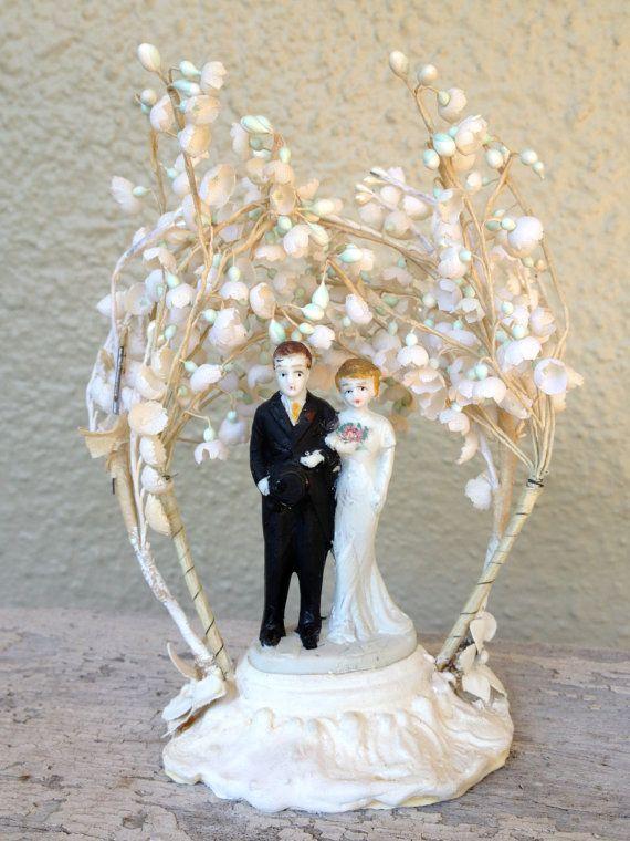 Amazoncom: wedding cake toppers vintage
