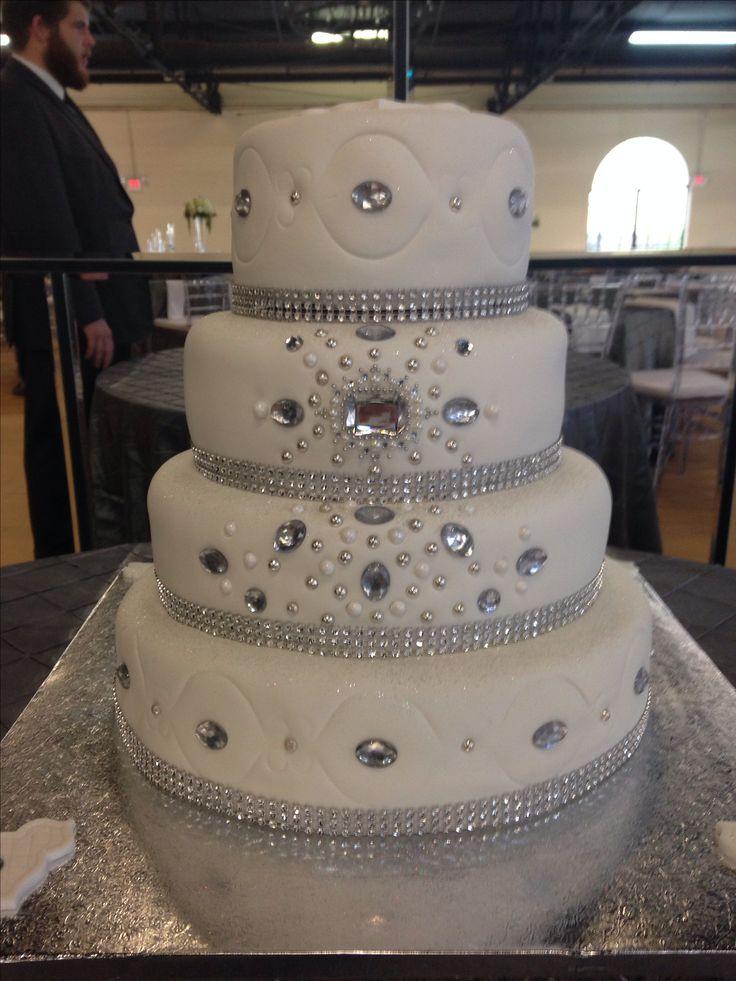 Bling Wedding Cake Bake My Day Creations